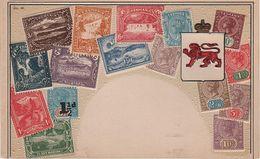 Philatelie Litho AK Tasmania TAS Tasmanien Tasmanie Australien Australia Australie Hobart Briefmarke Stamp Timbre - Hobart