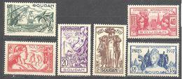 Soudan: Yvert N°93/98*; Cote 12.00€ - Soudan (1894-1902)