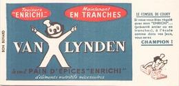 France Buvard Pain D'épices Van Lynden ( Pliure ) 20 Cm X 10 Cm - Gingerbread