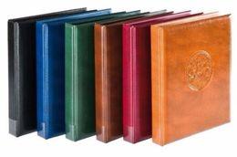 """MATÉRIEL NUMISMATIQUE - Classeur """"Caravelle"""" Avec 10 Pages Panachées Pour 327 Monnaies - Divers Coloris Au Choix - Matériel"""
