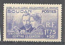 Soudan: Yvert N°99**; MNH; Pierre Et Marie Curie; Cote 22.00€ - Soudan (1894-1902)