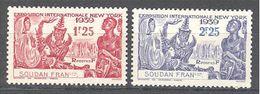 Soudan: Yvert N°103/104*; Cote 2.50€ - Soudan (1894-1902)