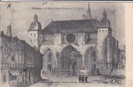 52----WASSY---l'église Notre-dame Au XVe Siècle--voir 2 Scans - Wassy