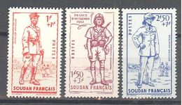 Soudan: Yvert N°122/124**; MNH; Cote 5.40€ - Soudan (1894-1902)