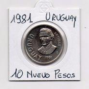 Uruguay - 1981 - 10 Pesos - Vedi Foto - (MW343) - Uruguay