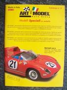 CATALOGO  N° 8  ART MODEL AUTOMODELLI IN SCALA 1/43  FERRARI  PERFETTO - Italia