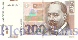 CROATIA 200 KUNA 2002 PICK 42a UNC - Croatie