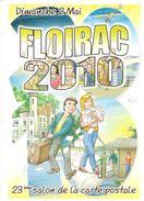 CP Illustrée (Bernard Veyri) 23e Salon De La CP De Floirac - France