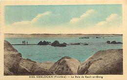 - Finistere -ref-D751- Kerlouan - Baie De Roch Ar Gong - Carte Bon Etat - - Kerlouan