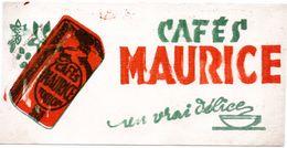 Buvard Café Maurice, Un Vrai Délice. - Café & Thé