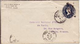 Boston 1912 - Cover Stationery Entier Ganzsache - Postwaardestukken