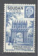 Soudan: Yvert N°130**; MNH; Variété Surcharge Déplacée - Soudan (1894-1902)