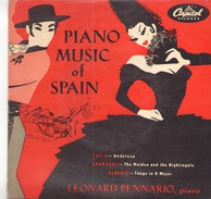 45 TOURS LEONARD PENNARIO CAPITOL 8235 FALLA / GRANADOS / ALBENIZ - World Music