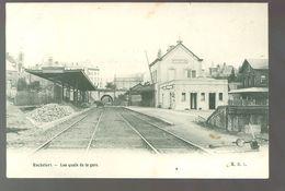 Rochefort  :     Les Quais De La Gare - Statie - Station - Rochefort