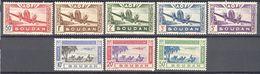 Soudan: Yvert PA N°10/17*; Cote 8.70€ - Soudan (1894-1902)