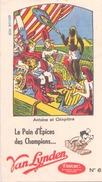 France Buvard Pain D'épices Van Lynden ( Pliure, Tache  ) 20 Cm X 11 Cm - Gingerbread