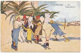 R. PICK - Humour, Egypte - Bakschisch - B.K.W.I. - Altre Illustrazioni