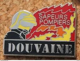 SAPEURS POMPIERS DOUVAINE 74 - FRANCE - CASQUE  -    (14) - Pompiers