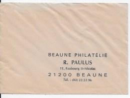 Enveloppe Beaune Philatélie - Other