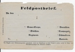 Enveloppe Feldpostbrief - Other