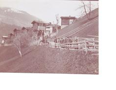 Photo Originale Bächerhausern Près Grengiols Côté Droit De L'avalanche 1903 District De Rarogne - Luoghi