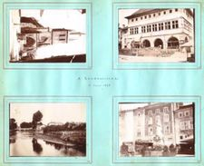 "8 Photos Originales 88 VOSGES "" RAMBERVILLERS, EPINAL Et PADOUX "" Août 1898 _PHOT132a&b - Lieux"