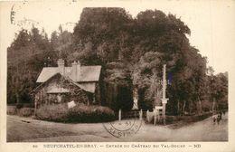 NEUFCHATEL EN BRAY ENTREE DU CHATEAU DU VAL BOURY - Neufchâtel En Bray