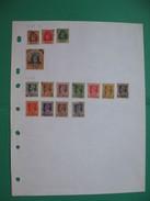 Inde Lot De Timbres Service Anciens Sur Feuille , India Old Stamps  Service - Inde (...-1947)