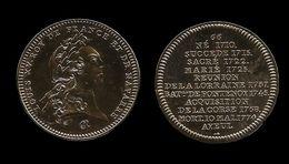 MEDAILLE DE LOUI XV . - Monnaie De Paris