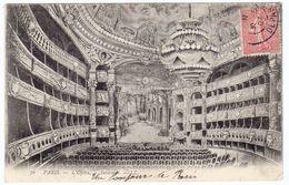 Prix Fixe -  PARIS - Opéra - Intérieur - 1907 # 11-7/21 - Arrondissement: 09