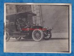Photo Ancienne - Secteur PARIS REIMS - Superbe TAXI - Nombreux Détails Immatriculation Klaxon Phare Lampe TOP Automobile - Cars