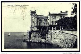 CASTELLO DI MIRAMARE ( Trieste ) Viaggiata 1931 - Italy