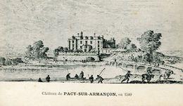 PACY Sur ARMANCON - LE CHÂTEAU En 1 500  - - France