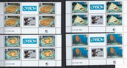 """Nle-Caledonie Coins Datés YT 710 à 713 """" Exposition Philatélique """" Neuf** Du 15 Avril 1996 - Nouvelle-Calédonie"""