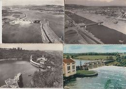 ELECTRIC POWER STATIONS BARRAGES FRANCE 600 CARTES POSTALES (pre-1980) - Unclassified