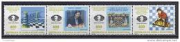 AJEDREZ - GUINEA ECUATORIAL 1996 - Edifil #222/5 - MNH ** - Ajedrez