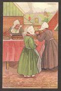 VOLENDAM - Melchers - ( De Haan Uttecht ) ( Commerce , étallage , Marchande ) Illustrateur - Other Illustrators