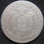 Greece 1 Drachma 1873 A F - Silver - Grecia