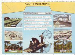 CPM/CPSM - SAINT JEAN DE MONTS - Multivues - France