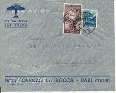 Italy Air Mail Cover Sent To Denmark Roma Ferovia 5-2-1949 - 1946-.. Republiek