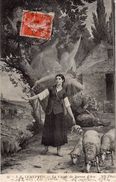 J-E LENEPVEU  -  La Vision De Jeanne D'Arc - Peintures & Tableaux