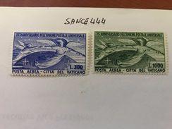 Vatican City 75 Years UPU Mnh 1949 - Unused Stamps
