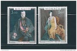Monaco Timbres De 1981 Tableaux  Neufs** N°1286 Et 1287 - Nuovi