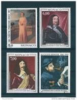 Monaco Timbres De 1991  Neufs **  N°1786 A 1789  Tableaux - Unused Stamps