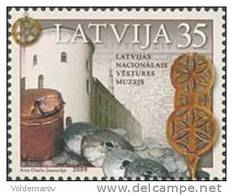 Latvia 2009 Mih. 759 National Museum MNH ** - Lettland