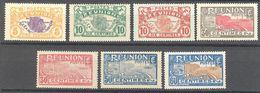 Reunion:  Yvert N° 84/95**/*/gomme Coloniale; Cote 6.30€ - Réunion (1852-1975)