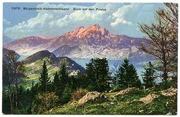 SUISSE : BURGENSTOCK - HAMMETSCHWAND. BLICK AUF DEN PILATUS - NW Nidwalden