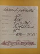 4869 - Azienda Agricolo Fossetta Rosso Veneto 1985 Merlot Del Piave Italie - Etiquettes