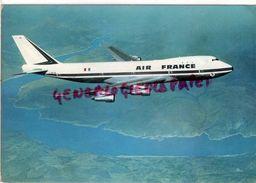 AVIATION - AVION - BOEING 747- QUADRIREACTEUR GEANT DE 322 TONNES - 360 PASSAGERS  AIR FRANCE - 1946-....: Era Moderna