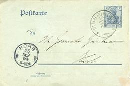 (Lo409) Ganzs. DR St. Mühringen N. Horb - Lettere